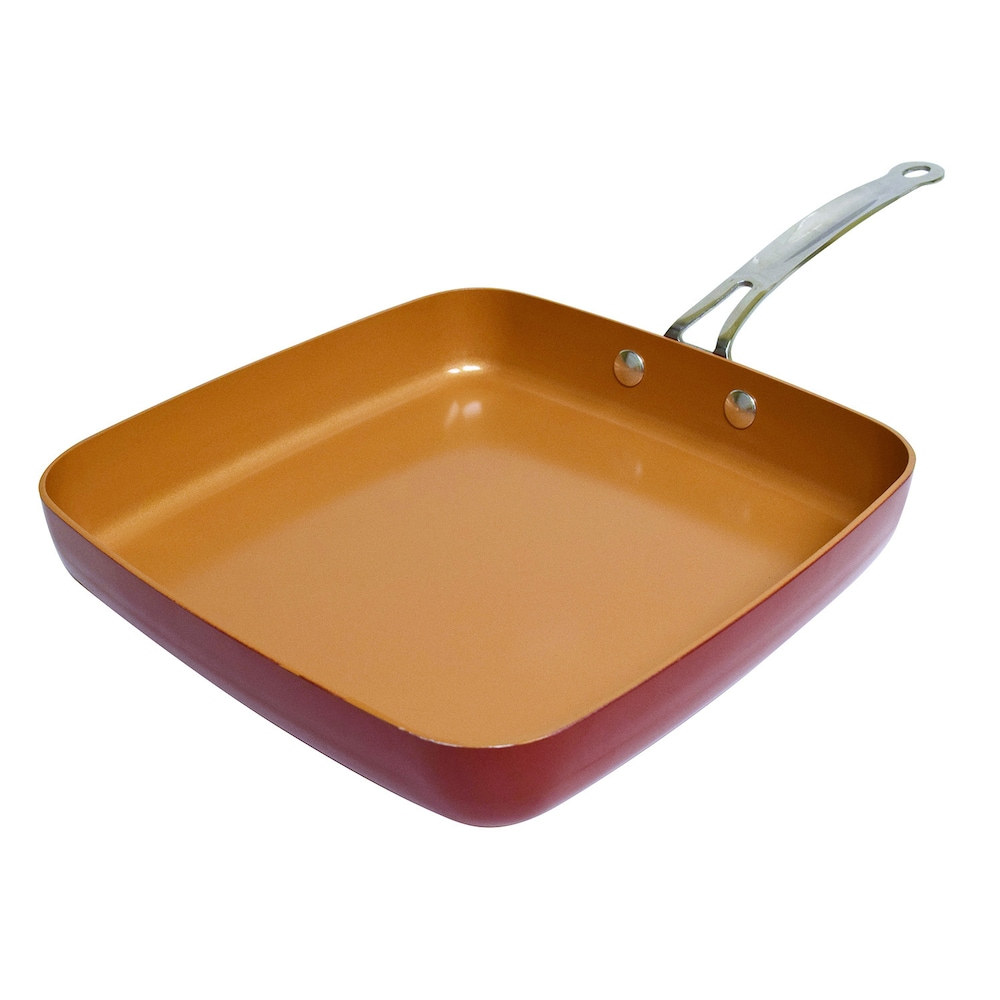 Red Copper Pan As Seen On Tv California Memes